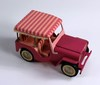 TONKA #350 PINK JEEP WITH SURREY CANOPY