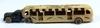 VINTAGE ARCADE GMC GREYHOUND LINES CHICAGO 1933 CAST IRON