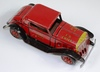 VINTAGE MARX TIN FRICTION FIRE CHIEF CAR