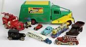 Vintage Cast Iron Cars Trucks Trains Planes Buses