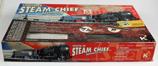 SANTA FE STEAM CHIEF PASSENGER SET IN THE ORIGINAL BOX
