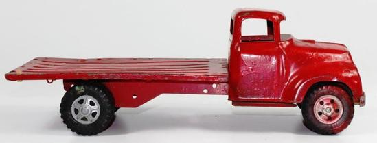 VINTAGE TONKA TOYS PRESSED STEEL STAKE TRUCK WITHOUT STAKES