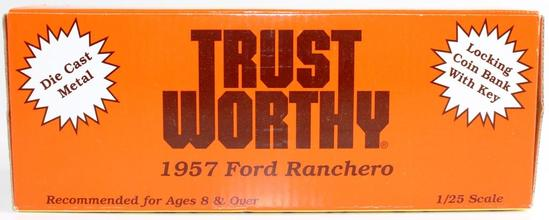 NEW TRUST WORTHY HARDWARE STORES DIECAST BANK