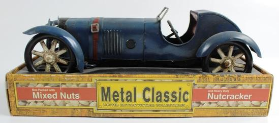 NEW, IN THE BOX: METAL CLASSIC LIMITED EDITION ROADSTER NUTCRACKER