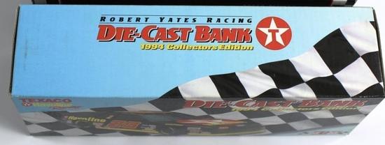 NEW, IN THE BOX: TEXACO HAVOLINE RACING DIE CAST METAL BANK