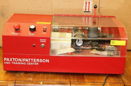 PAXTON / PATTERSON CNC MINI METAL LATHE TRAINING CENTER