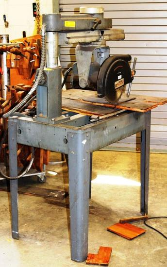 "DELTA  ROCKWELL 10"" RADIAL ARM SAW"