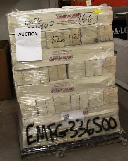 PALLET OF 64 ROLLS ENVIROGUARD EMFG336500 ENVIROMAT FLOOR GUARD