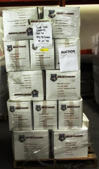 PALLET OF 40 BOXES INTERNATIONAL ENVIROGUARD COVERALLS