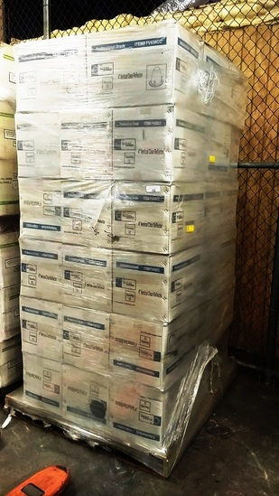 PALLET OF 48 BOXES OF GLOBE LIGHTING FIXTURES - 12 PER BOX