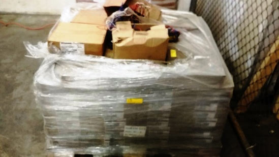 PALLET OF OVER 100 BOXES OF BALLASTS