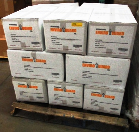 PALLET OF 15 BOXES OF ENVIROGUARD COVERALLS 3XL - 25 PER BOX W2404