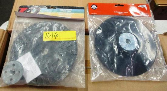 LOT OF 46 GRINDING / SANDING PADS