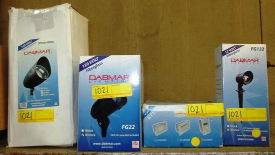 LOT OF 7 DABMAR LIGHTING FIXTURES
