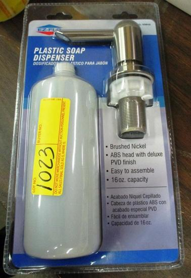 LOT OF 65 NEW EZ-FLO PLASTIC SOAP DISPENSERS