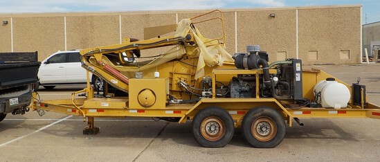 Truck Trailer Loader Grinder & Fixtures Dallas, TX