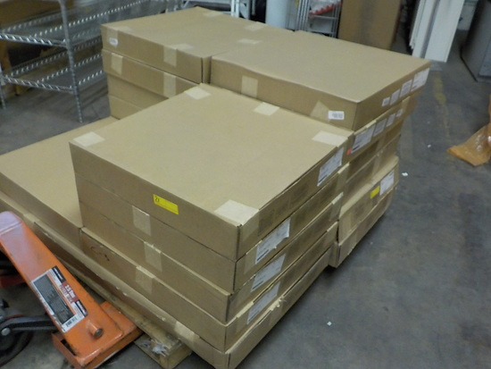 PALLET OF 14 COLUMBIA LED TROFFER LIGHT FIXTURES