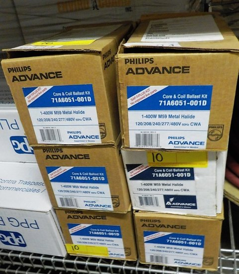 LOT OF 6 PHILIPS ADVANCE CORE & COIL BALLAST KITS