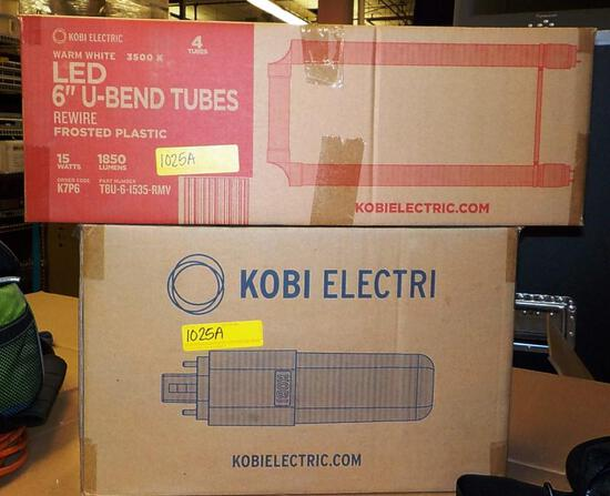 2 BOXES OF KOBI ELECTRIC LED BULBS