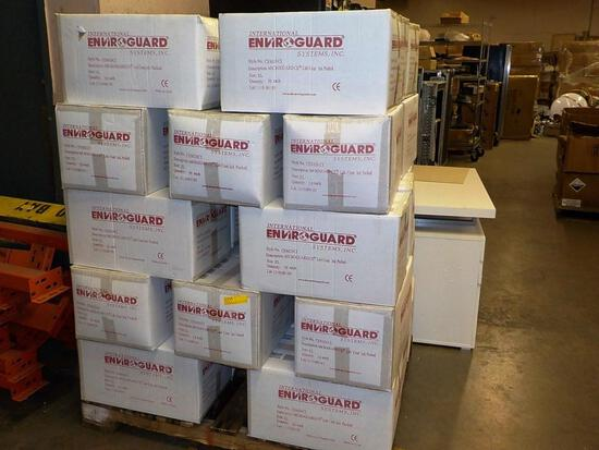PALLET OF 31 BOXES OF ENVIROGUARD XL LAB COATS