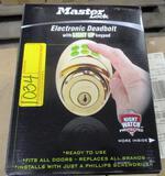 15 NEW MASTER LOCK DSKP0605D ELECTRONIC DEADBOLTS