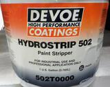 LOT OF 11 GALLONS DEVOE PAINT STRIPPER