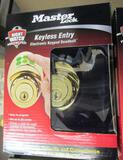 18 NEW MASTER LOCK DSKP0603PD KEYLESS ENTRY DEADBOLTS