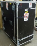 HEAVY DUTY BLACK ROLLING EQUIPMENT CASE