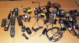 LOT OF POWER ADAPTERS AND REMOTES