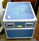 ASTRAL POINT BLUE ROLLING EQUIPMENT CASE