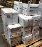 PALLET OF ENVIROGUARD COVERALLS & SHOE COVERS