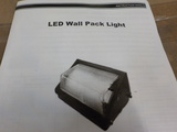 LOT OF 10 NEW RENESOLA LED WALL PACK LIGHTS