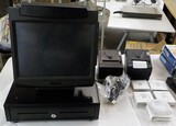 NCR 7402 POS SYSTEM, CASH DRAWER & MORE