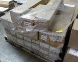 PALLET OF FLOURESCENT BULBS AND TUBES