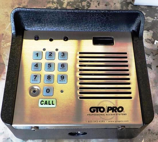1 NEW GTO F3110MBC EXTERIOR INTERCOM PAD