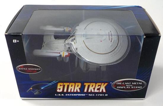 NEW HOT WHEELS STAR TREK U.S.S. ENTERPRISE NCC-1701-D