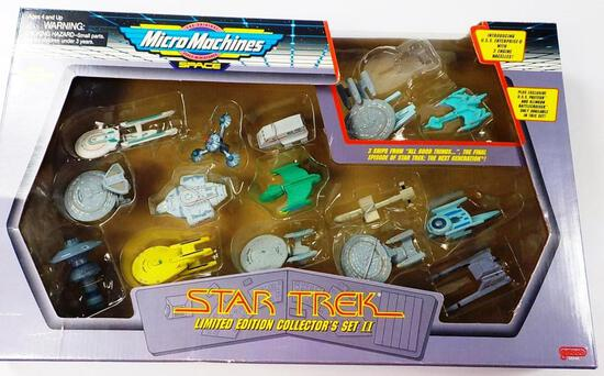 NEW GALOOB MICRO MACHINES STAR TREK LIMITED EDITION COLLECTOR'S SET II