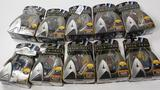 NEW SET OF ALL 10 PLAYMATES STAR TREK GALAXY COLLECTION FIGURES