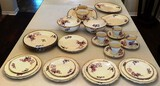 37 PIECES OF ALFRED MEAKIN ROYAL MARIGOLD CHINA
