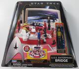 NEW PLAYMATES STAR TREK U.S.S. ENTERPRISE BRIDGE
