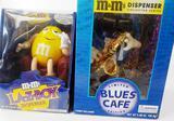 2 NEW M&M DISPENSERS: LA-Z-BOY AND BLUES CAFÉ