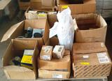 PALLET OF ELECTRICAL HARDWARE