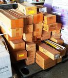 PALLET OF APPROX. 40 BOXES OF TUBES / BULBS / LAMPS