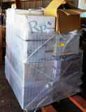 PALLET OF ROYAL PACIFIC LIGHTING HARDWARE AND TRIM