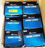 2 BOXES OF NEW DELTANA DOOR LEVER HARDWARE