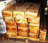 PALLET OF 20 BOXES OF GRANITE BACK SPLASHES
