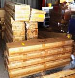 37 BOXES OF GRANITE BACK SPLASHES