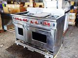 WOLF GAS RANGE FOR PARTS OR REPAIR