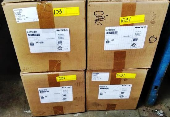 LOT OF NEW SUTTLE ELECTRICAL HARDWARE