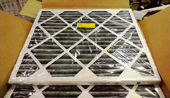 BOX OF 12 NEW AAF GAS AND PARTICULATE FILTERS